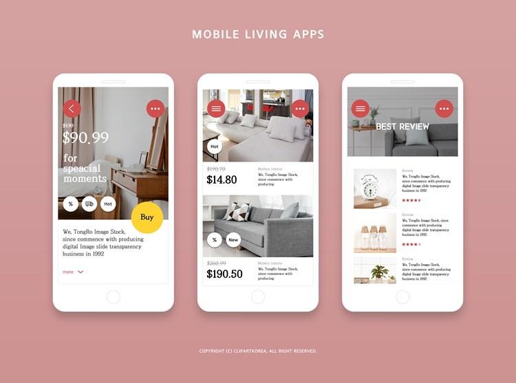 创意时尚手机界面APP设计源文件psd52