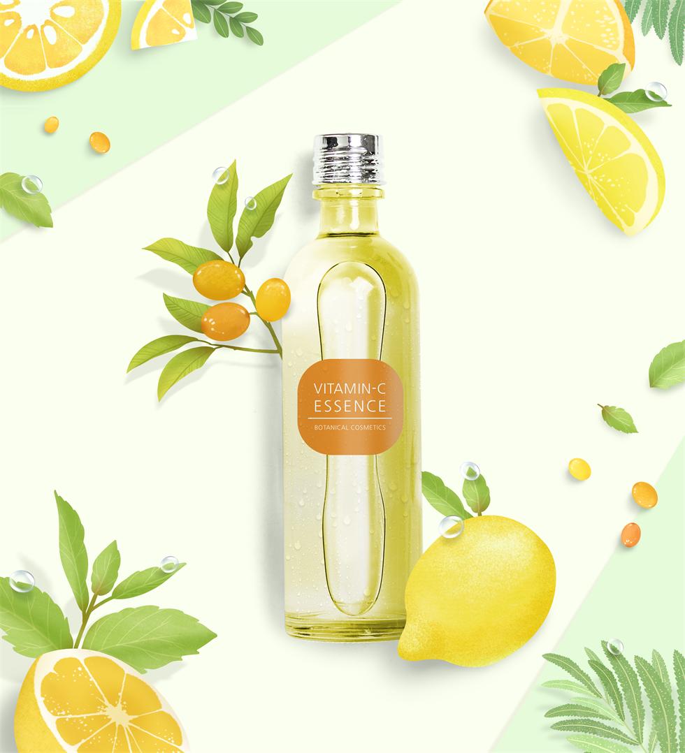小清新柠檬汁饮料海报