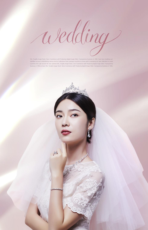 美女个人写真婚纱摄影海报